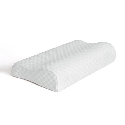 memory-foam-contour-firm-pillow-therapeutic-relief-hypoallergenic-dust-mite-resistant-washable-cover
