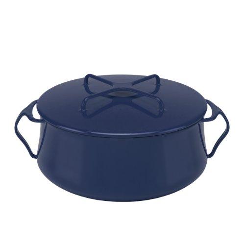 6 Quart Casserole (Dansk Kobenstyle Midnight Blue Casserole, 6-Quart)
