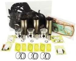 "New Perkins AD3.152/""Massey Ferguson240//135/""Complete Gasket Set Lip Seal"