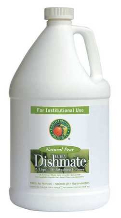 Manual Dishwashing Liquid, 1 gal, Pear