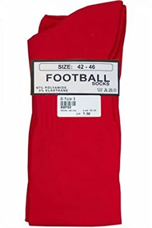 Football Socks Red von Mr. B. Größe Medium Mister B