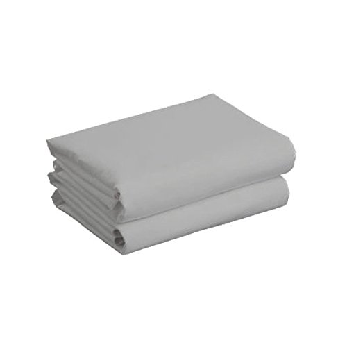 Cuddles Collection Cot Jersey Sheets (Grey, 2 Pack) CCU11283