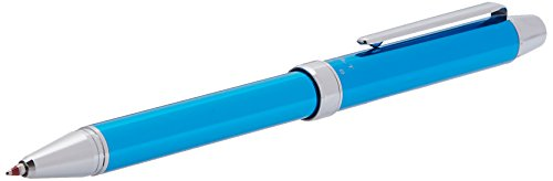 Pilot 2 +1 EVOLT 2 Color 0.7 mm Ballpoint Multi Pen 0.5 mm Mechanical Pencil, Light Blue Body