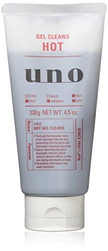 UNO (우노) 핫 젤 클렌즈 세안료 클렌징 130g