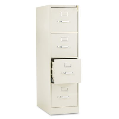 Hon Company 510 Series Four Drawer Full Suspension File Letter 52h X25d Putty Sold As 1