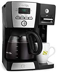 Mr. Coffee BVMC-DMX85 - 12-Cup Programmable Coffeemaker with Integrated Hot Water Dispenser - - Water Dispenser Coffee Hot