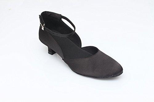 ballo UK2 Scarpe in scarpe Tango da ballo morbido raso EU34 CN33 con ballo fondo da scarpe da ballo scarpe moderne ShangYi 2 ballo donna da 5 da 5cm alte da BdwnqF6F