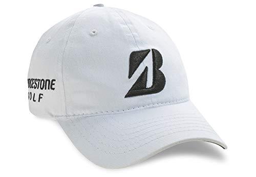 Bridgestone Cap - Bridgestone Golf 2019 Tour B Relax Cap Hat, Adjustable Closure, White