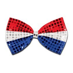 Glitz 'N Gleam Bow Tie (Sold by 1 pack of 12 items) PROD-ID : 523923