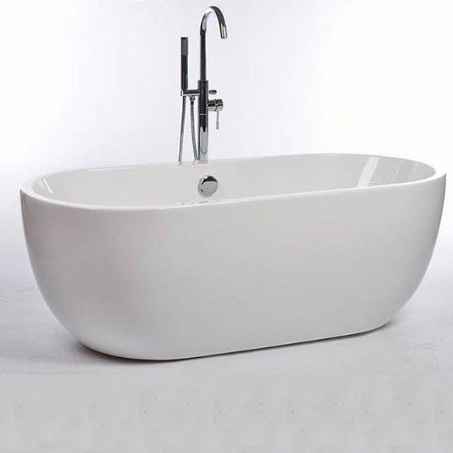 Freestanding Bath Tub Many StylesSizes Acrylic White 1650