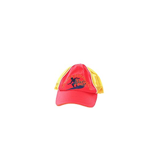 Dolce e Gabbana Men's Rrb042ss177s9001 Red Cotton Hat