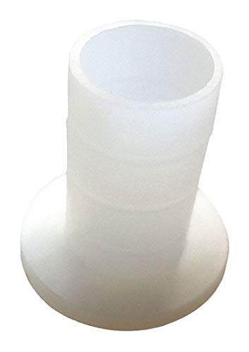 0.750'' Nylon 6/6 Shoulder Washer with Natural Finish, Off White - pack of 5 by Unknown (Image #1)