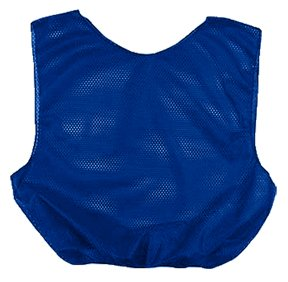 Royal Blue Youth Mesh Poly Scrimmage Vests ()