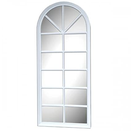 Window Frame Wall Mirror - Pack of 2