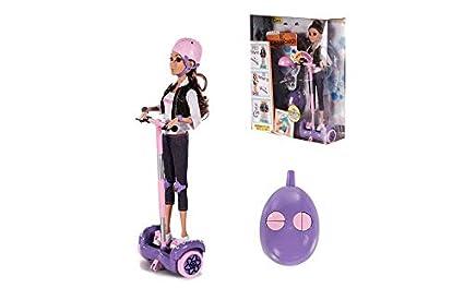 Amazon.es: RC TECNIC Muñeca Fashionista con Hoverboard ...