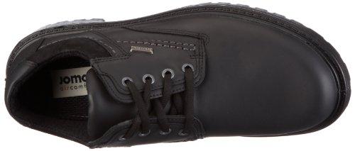 Jomos Alpina 1 456804 333 000 - Zapatos casual de cuero para hombre Negro (Schwarz (schwarz 000))
