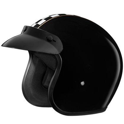 Studds Jetstar Classic D2 Decor Open Face Designer Helmet