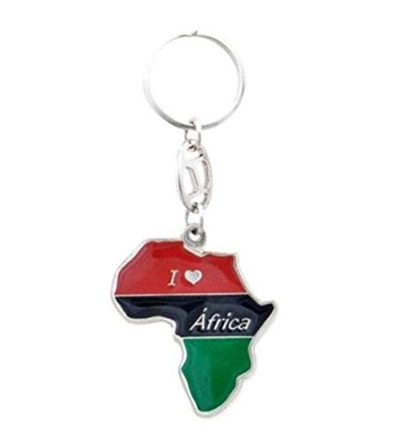 - Keychain -Africa MAP-