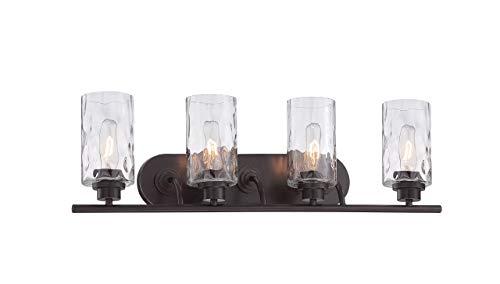 Designers Fountain 87104-OEB Gramercy Park 4 Light Bath - 4 Park Light Vanity