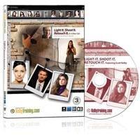 Kelby Training DVD: Light It, Shoot It, Retouch It by Scott Kelby, 3 Discs