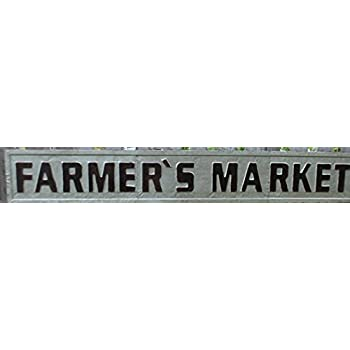 Amazon Com Glory Amp Grace 60 Quot Huge Rustic Farmer S Market