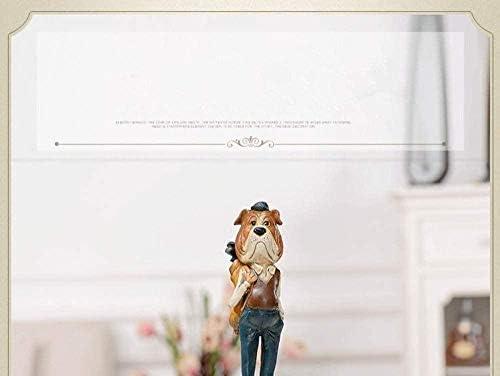 OFJM scultoree Decorative Decorazione della Bambola scrivania Bambola Stile Country Accessori per la casa Decorazione Creativa Cane e Decorazione Decorazione della Stanza Decorazione
