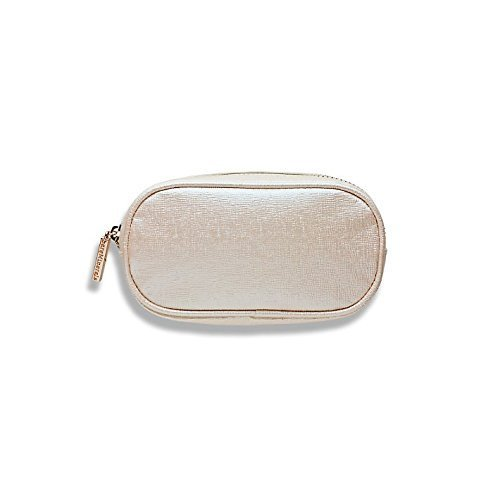 Bare Escentuals Bare Minerals Travel Size Shiny Light Pink Zippered Makeup Bag (Bare Minerals Makeup Bag)