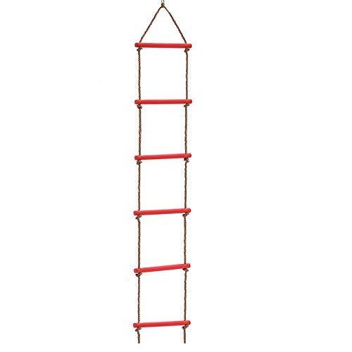 Kinderen klimmen ladder Schommel voor kinderen Single-Head zes-speed plastic ladder