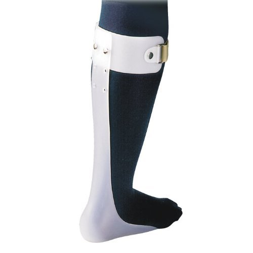 Ankle Foot Orthosis/Foot Drop Splint Right Md White Non R...