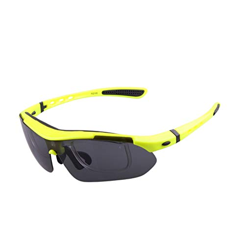 Cycling Tactical Glasses Men Women Bicycle Bike Sports Cycling Glasses,Yellow -