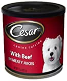 Cesar Meaty Select Beef Flavor in Meaty Juicess, 10-Ounce, 12-Pack, My Pet Supplies