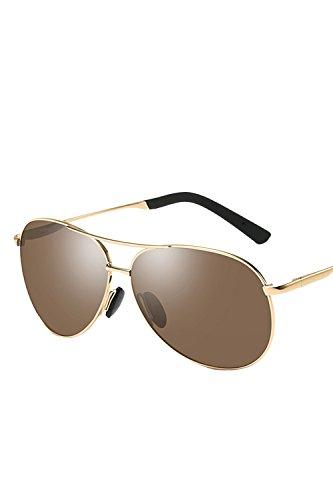 De Para Sol Moda Mujeres Brown Hombres Moda UV400 Polarizadas Gafas O nq6FqHSx