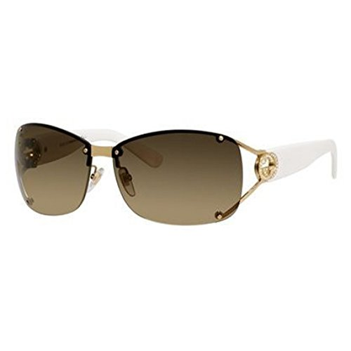 Gucci GG2820/F/S Sunglass-0BQB Gold (ED Brown Gradient - Gucci Wrap Sunglasses