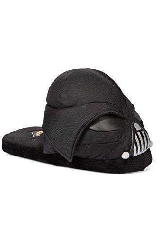 Bioworld Disney Star Wars Youth Slippers Darth Vader X-Large US (Star Wars Darth Vader Slippers)