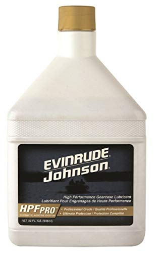 OMC Johnson Evinrude E-Tec HPF Pro Gearcase Lube 32oz. for Outboards & Sterndrives OEM