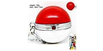 Amazon.com: Pokemon Pokeball 3d llavero de metal: Automotive