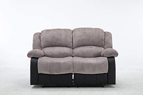 Nathaniel Home Aiden Love Seats, Gray
