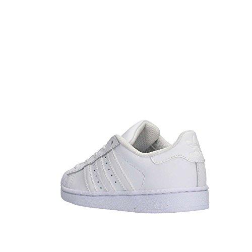 Unisex Originals Niños Superstar Adidas Blanco Zapatillas HtzZg