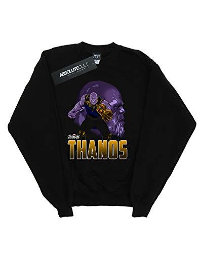 De Avengers Mujer Camisa Character Negro Infinity Entrenamiento Thanos War FRq1Fw