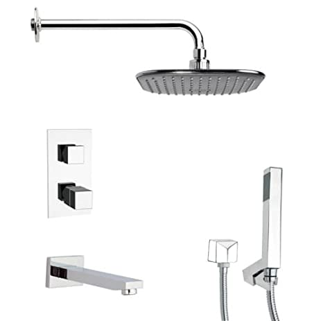 Remer Remer TSH4404 Tyga Thermostatic Tub and Shower Faucet, 12.5\