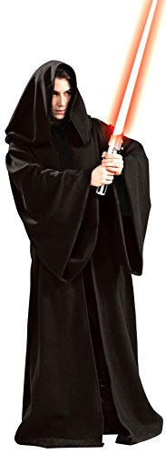 Rubie's Men's Star Wars Super Deluxe Adult Hooded Sith Robe, Multicolor, Standard]()