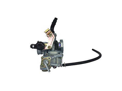 shamofeng Carburetor for PZ19 Choke Lever with PETCOCK for Chinese Made 50cc, 70cc, 90cc, 100cc, 110cc, 125cc Kids' ATV, Go-Kart, Dirt Bike, Pocket -