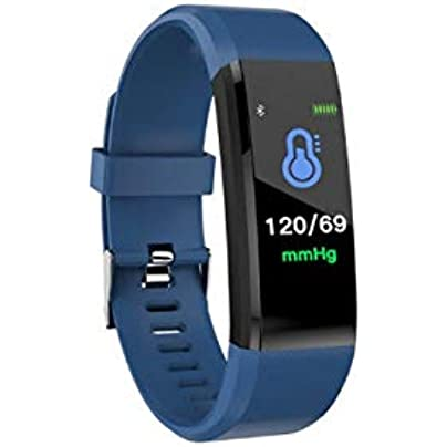 DMMDHR Smart Fitness Bracelet ip68 Waterproof Fitness Sport Tracker Wristbands Blood Pressure Measurement Heart Rate Monitor Estimated Price £30.32 -