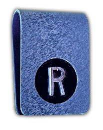 X-Ray Markers, Clipper Style - Thin, No Initials, L & R 3/4'', Vertical