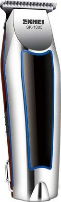 Skmei rechargeable hair trimmer Runtime: 45 min Body Groomer for Men  amp; Women  SKT1005BLUE