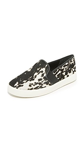 Vince Womens Blair 5 Fashion Sneaker Nero / Bianco