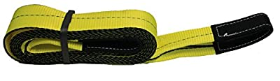 "Heavy Duty Tow Strap 4"" X 20' Recovery Rescue 32000 LB Break Strength Towing by Mytee Products"