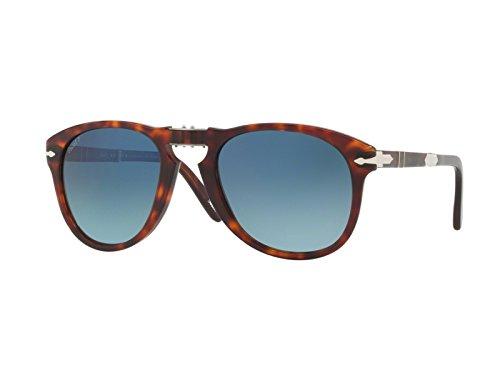 Persol STEVE MCQUEEN LIMITED EDITION PO 0714SM Sunglasses, Havana, 54 mm