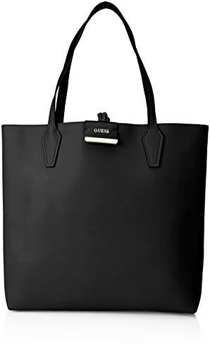 Devinez Bobbi, Borsa Tote Donna, 42,5x35x12,5 cm (w X H L) Multicolore (noir / étain / bcp)