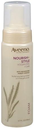 Aveeno Nourish Style Volumizing Foam 6 7 Fl Ounces Hair Care Products Beauty Amazon Com